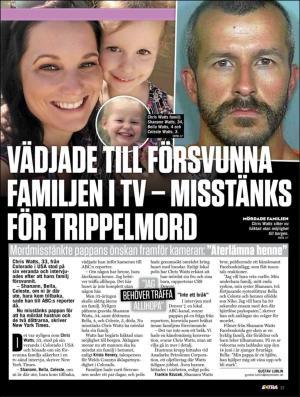 Misstanks for trippelmord