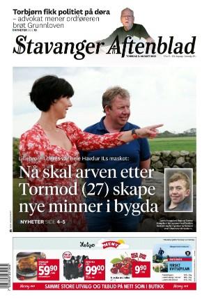 Forside Stavanger Aftenblad