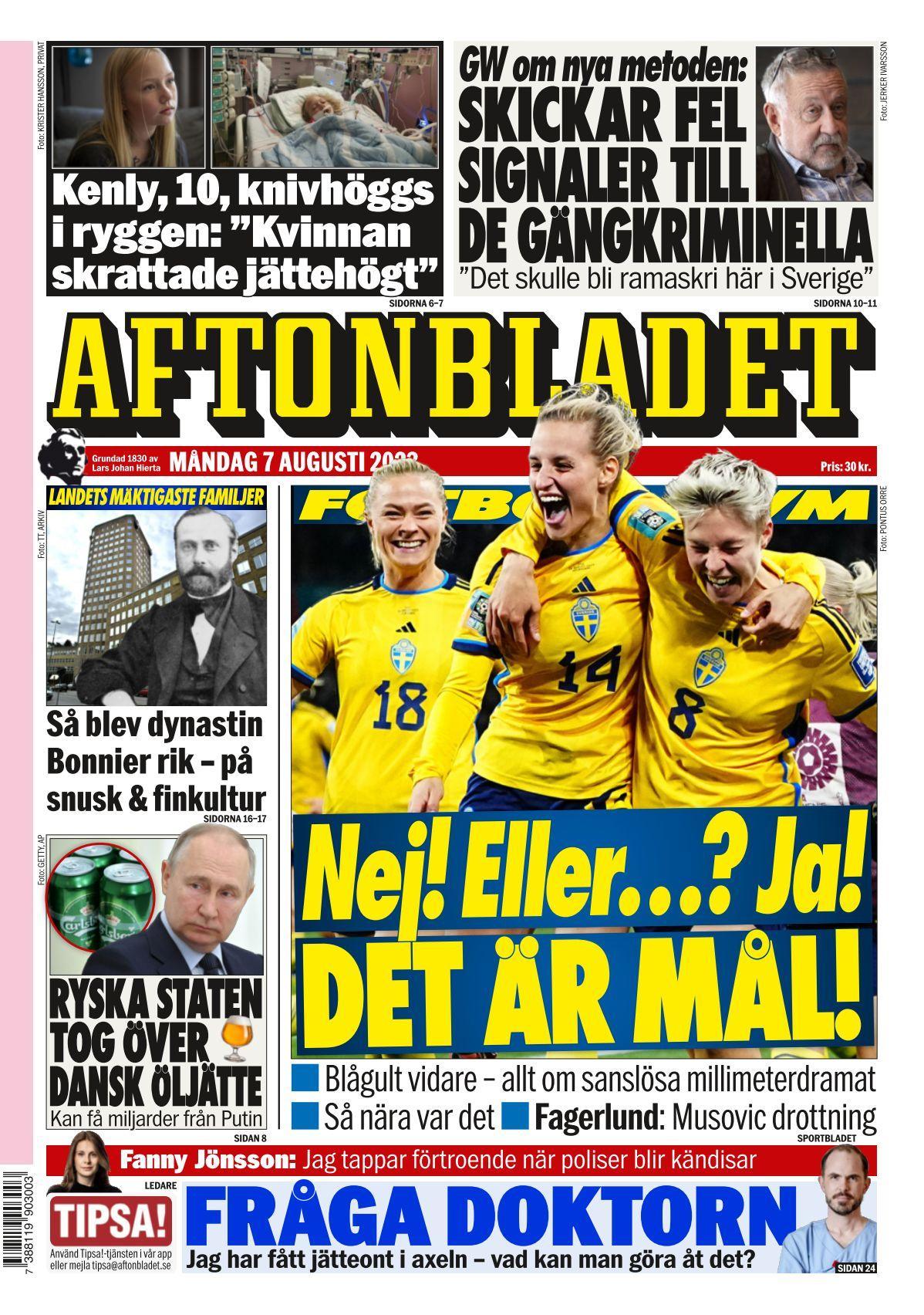 Opiniones de Aftonbladet