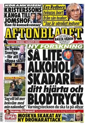 Förstasida Aftonbladet