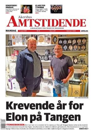 Forside Akershus Amtstidende