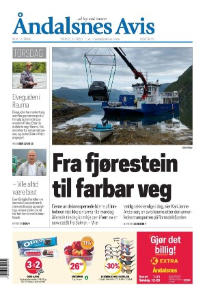 Forside Åndalsnes Avis