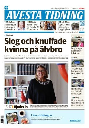 Förstasida Avesta Tidning