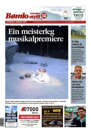 Forside Bømlo-Nytt