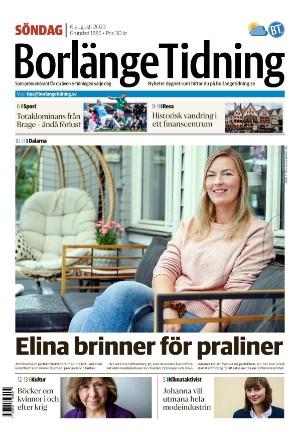 Förstasida Borlänge Tidning
