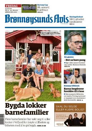 Forside Brønnøysunds Avis