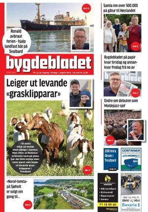 Forside Bygdebladet