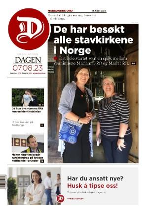 Forside Dagen