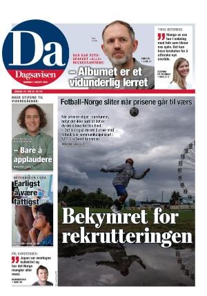 Forside Dagsavisen