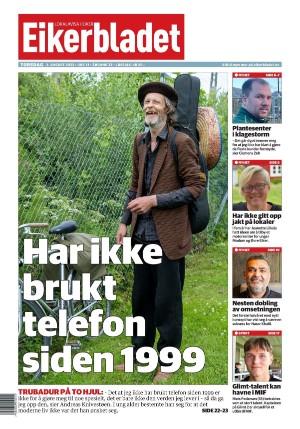 Forside Eikerbladet