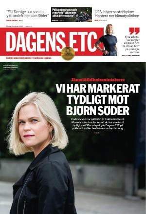 Förstasida Dagens ETC
