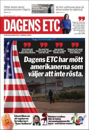 Förstasida ETC Göteborg