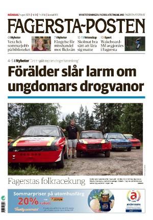 Förstasida Fagersta-Posten