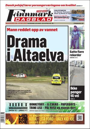 Finnmark Dagblad 26 06 17