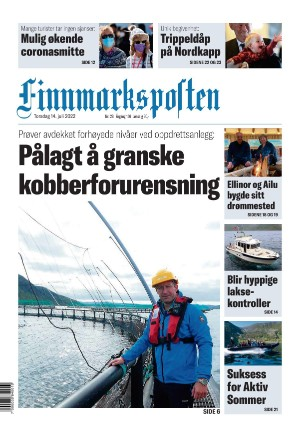 Forside Finnmarksposten