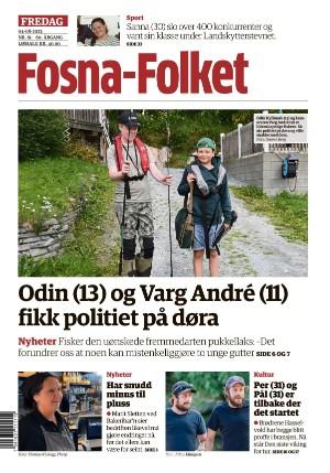 Forside Fosna-Folket