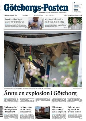 Förstasida Göteborgs-Posten