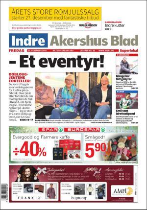 Indre Akershus Blad Kryssord