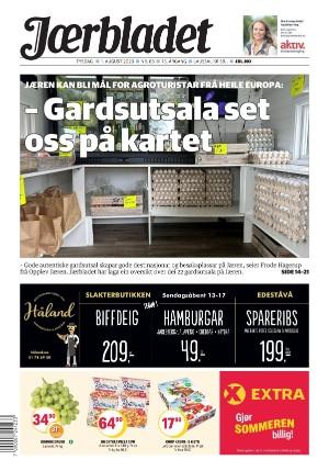 Forside Jærbladet