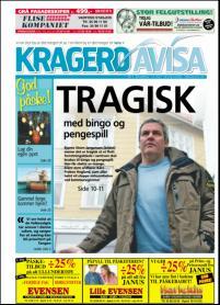 KragerøAvisa 12.03.08