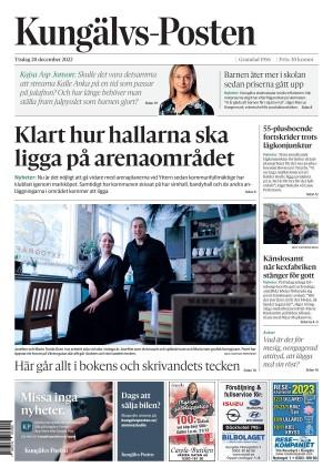 Förstasida Kungälvs-Posten