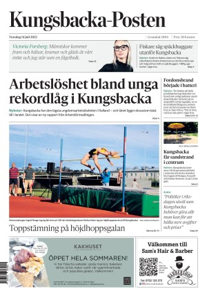 Förstasida Kungsbacka Posten