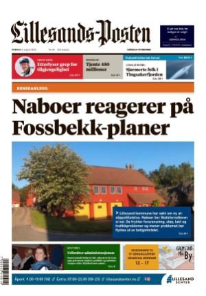 Forside Lillesands-Posten
