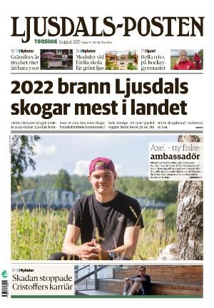 Förstasida Ljusdals-Posten