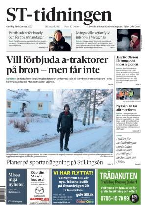 Förstasida Lokaltidningen Stenungsund