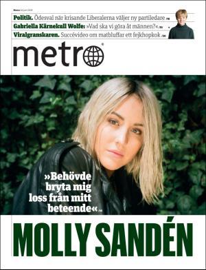 Förstasida Metro Stockholm
