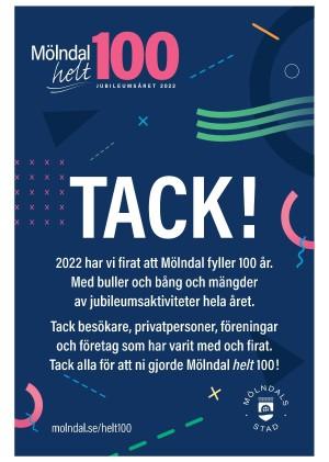 Förstasida Mölndals-Posten