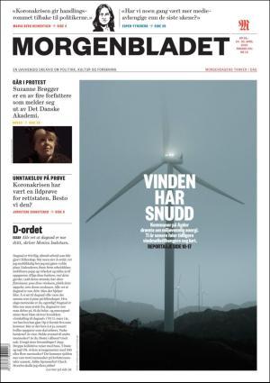 Morgenbladet 24.04.20