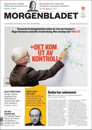 Morgenbladet 10.07.20