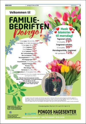 pongos blomster