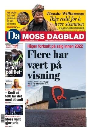 Forside Dagsavisen Moss Dagblad
