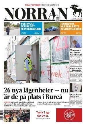Norran 2021-09-07