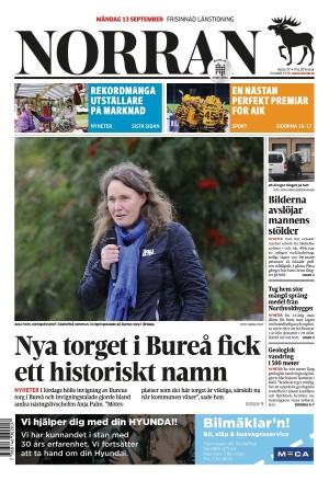 Norran 2021-09-13