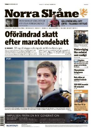Förstasida Norra Skåne