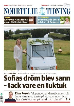 Förstasida Norrtelje Tidning