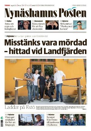 Förstasida Nynäshamns Posten