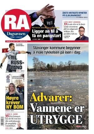 Rogalands Avis 07.01.21