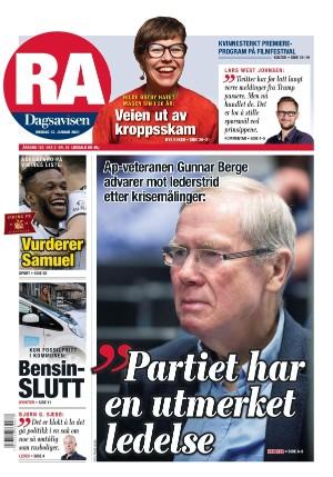 Rogalands Avis 13.01.21