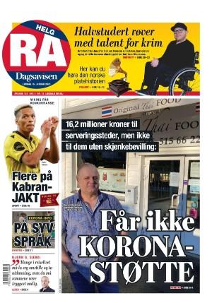 Rogalands Avis 16.01.21