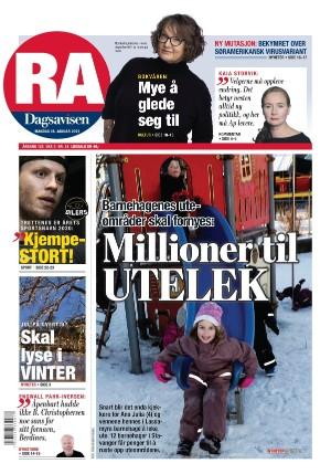 Rogalands Avis 18.01.21