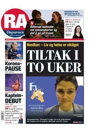 Rogalands Avis 19.01.21
