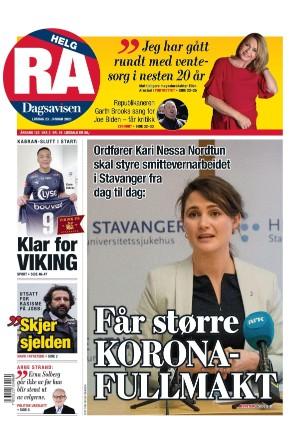 Rogalands Avis 23.01.21