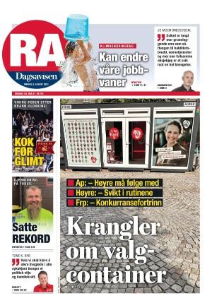 Forside Rogalands Avis
