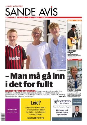 Forside Sande Avis