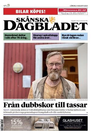 Förstasida Skånska Dagbladet