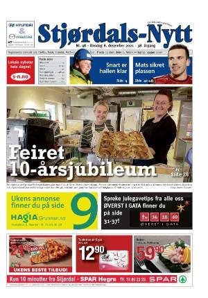 Forside Stjørdals-Nytt